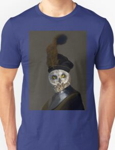The Owl General - Photographic Composite Unisex T-Shirt