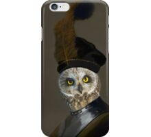 The Owl General - Photographic Composite iPhone Case/Skin