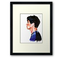 Calum crown Framed Print