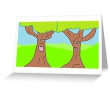 Lingering Trees Fan Art Greeting Card