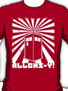 Allons-y Tardis Propaganda T-Shirt