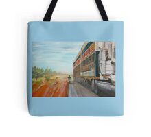 The Camooweal Track - Cattle Truck Tote Bag