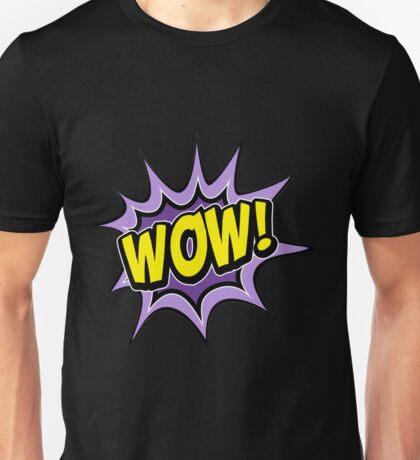 T-shirt wow Unisex T-Shirt