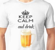 Beer Alcohol Drink Unisex T-Shirt