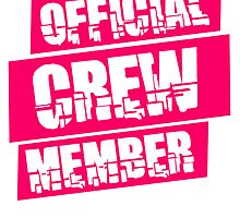 Official Crew Member Logo by Style-O-Mat