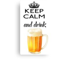 Beer Alcohol Drink Canvas Print