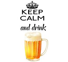 Beer Alcohol Drink Photographic Print