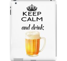 Beer Alcohol Drink iPad Case/Skin