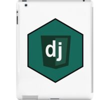 django programming language hexagonal sticker iPad Case/Skin