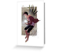 Wings_Merlin Greeting Card