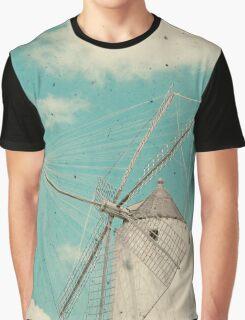 Windmill Graphic T-Shirt
