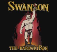 Swanson The BarbariRon  (Variant) T-Shirt