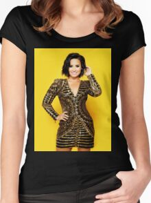 Demi #24 Women's Fitted Scoop T-Shirt