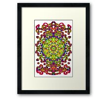Magic Talisman From A Distant Future Framed Print