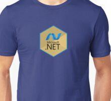 .net net programming language hexagonal sticker Unisex T-Shirt