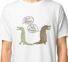 The Alligator and Crocodile Classic T-Shirt