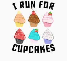 I Run For Cupcakes Unisex T-Shirt