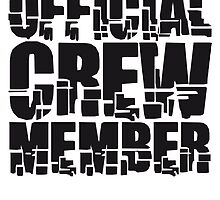 Official Crew Member by Style-O-Mat