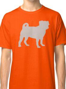 Silver Pug Classic T-Shirt