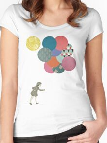 Party Girl Women's Fitted Scoop T-Shirt