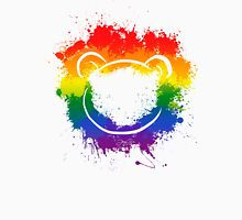 Pride Bear color splash Unisex T-Shirt