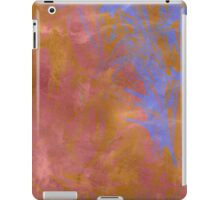 Rose and Powder Blue Abstract iPad Case/Skin