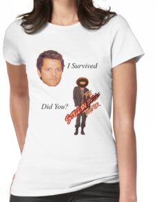 Survived Womens Fitted T-Shirt