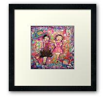 the rag doll Framed Print