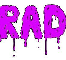 Totally Rad - Purple by heyrebekah
