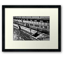 Street scene 7 Framed Print