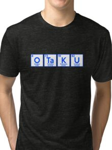 Otaku Periodic Table Shirt Tri-blend T-Shirt