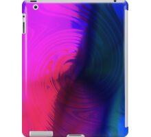 Blue Pink Twirl iPad Case/Skin