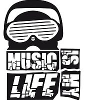 Music is my life Design by Style-O-Mat