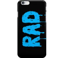 Totally Rad - Blue iPhone Case/Skin