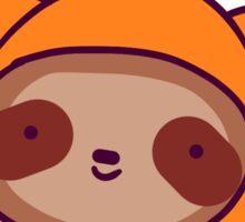Sloth Face Pumpkin Sticker