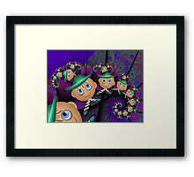 Inner Child - Leprechauns in a Psychedelic World Framed Print