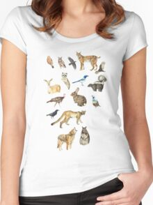 Keep Fort Ord Wild Women's Fitted Scoop T-Shirt