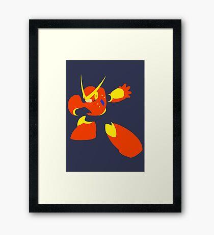 Quick Man Framed Print