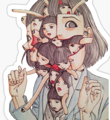 Shintaro Kago Sticker