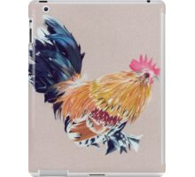 Colored Pencil Rooster iPad Case/Skin