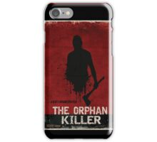 The Orphan Killer (RED) Poster iPhone Case/Skin