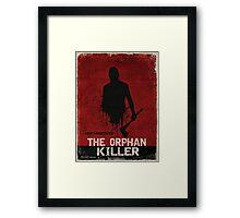 The Orphan Killer (RED) Poster Framed Print