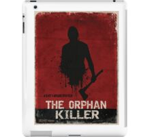 The Orphan Killer (RED) Poster iPad Case/Skin