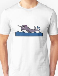 Baby Girl Narwhal Unisex T-Shirt