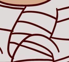 Mummy Sloth Sticker