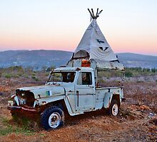Teepee Truck by KhanasWeb