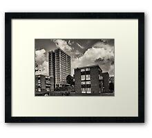 Leeds Flats Framed Print