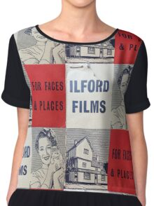 For Faces and Places Chiffon Top