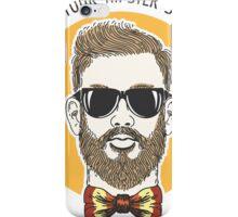 Hipster Summer Emblem iPhone Case/Skin