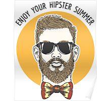 Hipster Summer Emblem Poster